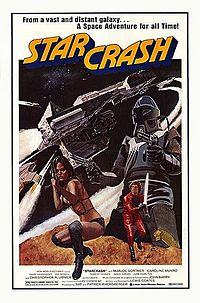 Starcrash film poster