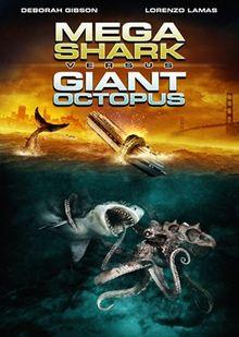 Mega Shark Vs Giant Octopus DVD Cover