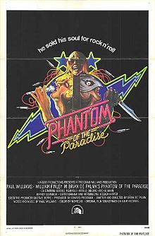 Phantom of the Paradise Theatrical Poster