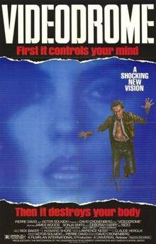 Videodrome DVD Cover